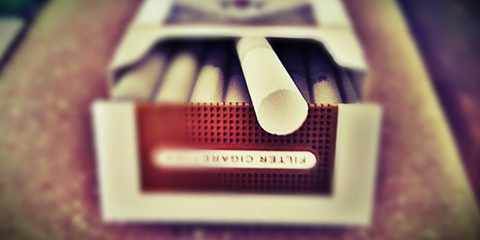 もらいタバコ