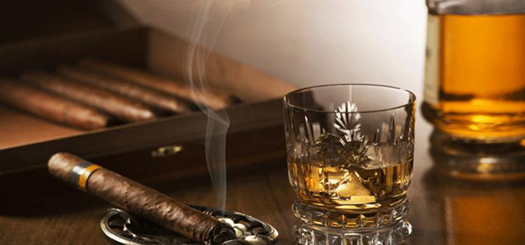 葉巻と煙草 吸い方違い