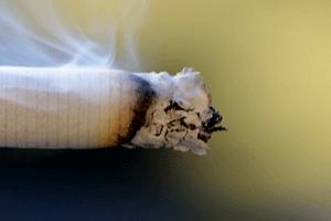 タバコの先端