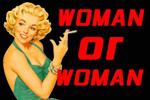 タバコを吸っている女性