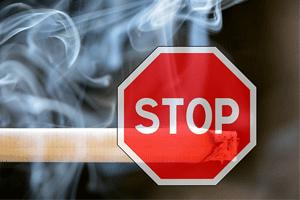 禁煙を促す画像