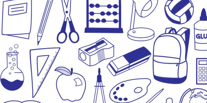 文具のイラスト