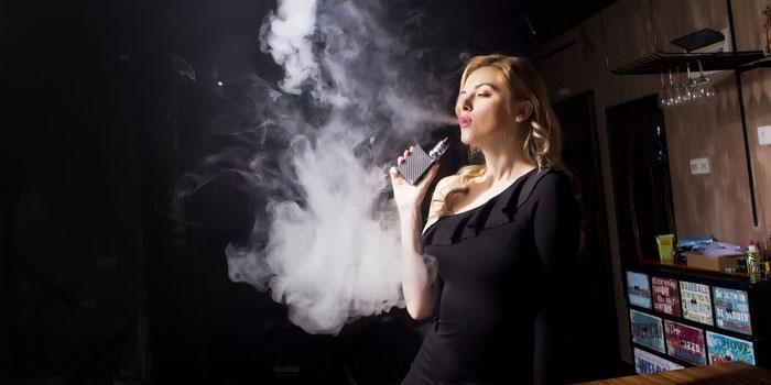 電子タバコの吸い方