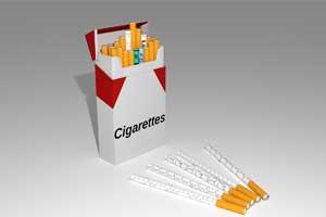 ヴェポライザーと紙巻きタバコ
