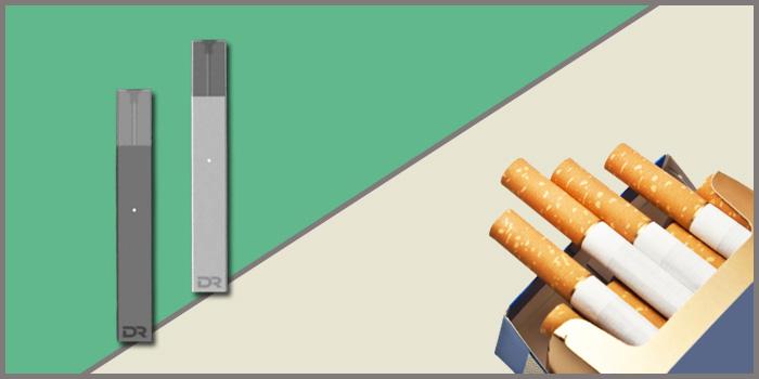 ドクタースティック 紙巻きタバコ コスパ 比較