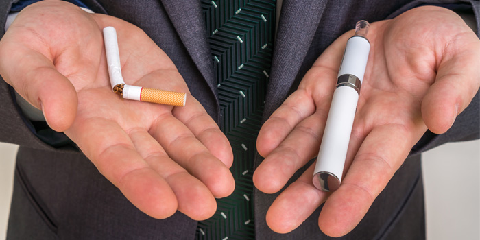 電子タバコ 紙巻きタバコ