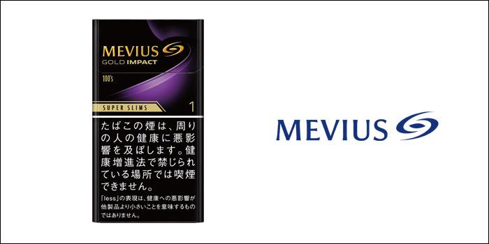 メビウス・ゴールド・インパクト・ワン・100's・スリム
