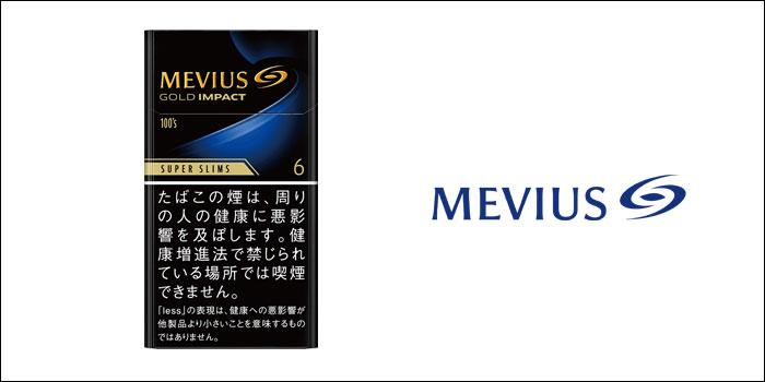 メビウス・ゴールド・インパクト・6・100's・スリム