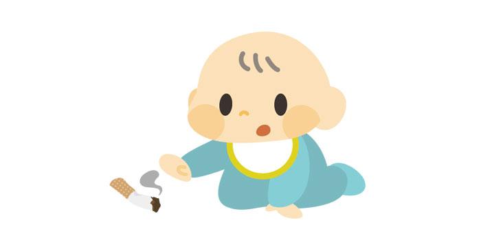 子供 タバコ 誤飲