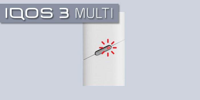 アイコス3マルチ 赤点滅 赤点灯