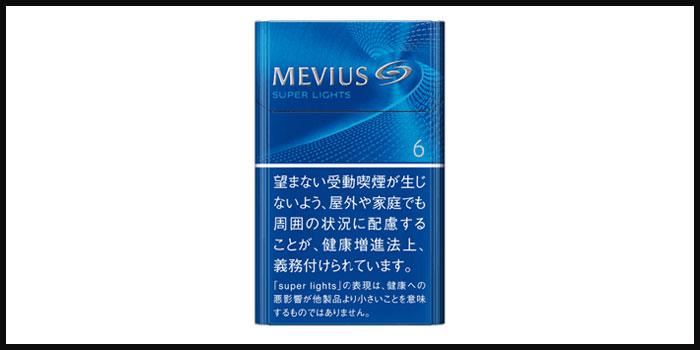 タバコの銘柄イメージメビウス