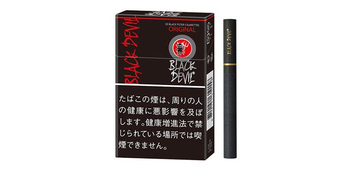 女性が吸いやすいタバコブラックデビル