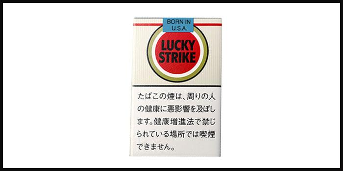 タバコの銘柄イメージラッキーストライク