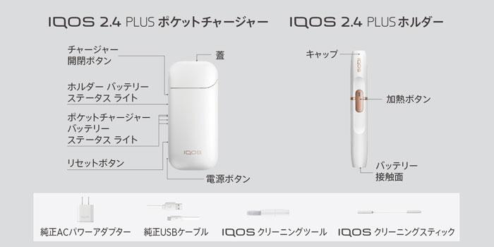 旧型IQOS 2.4 PLUS(アイコス2.4プラス)の使い方と吸い方
