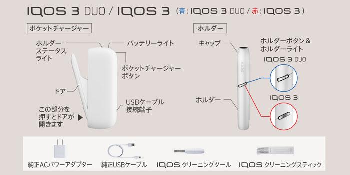 旧型IQOS 3 DUO(アイコス3デュオ) とIQOS3(アイコス3)の使い方と吸い方
