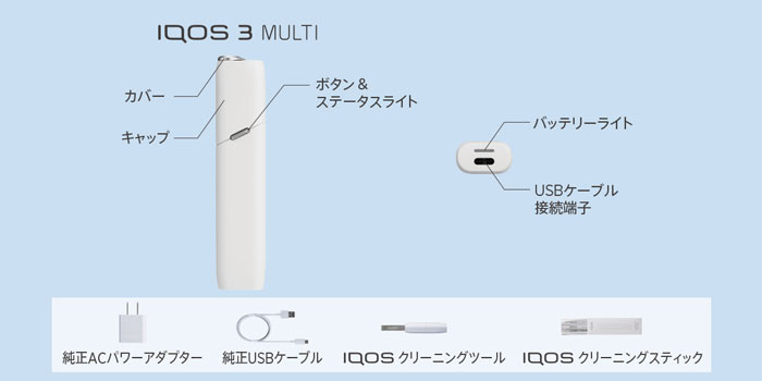 旧型IQOS 3 MULTI(アイコス3マルチ)の使い方と吸い方