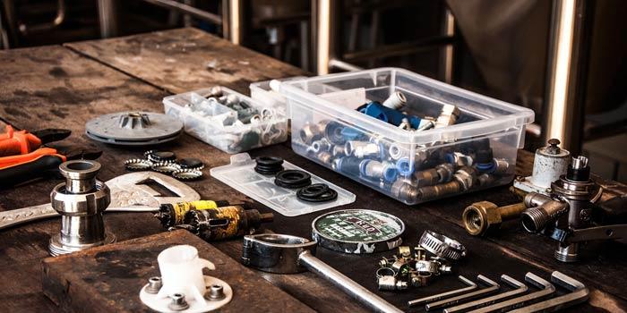 煙草盆を作る上で必要な道具