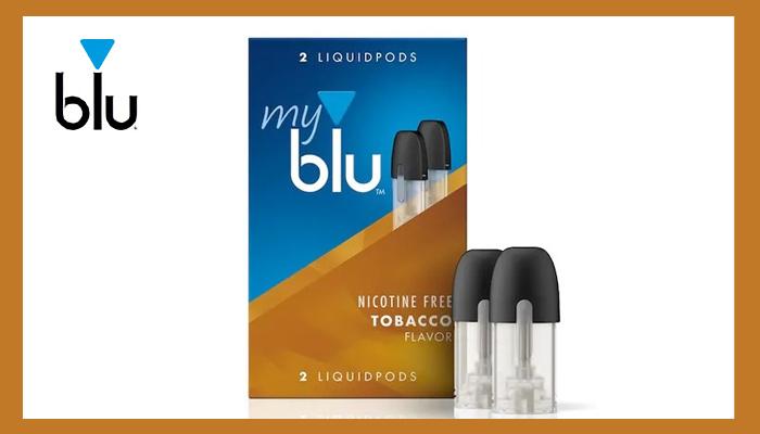 mybluフレーバー人気ランキング6位タバコ味