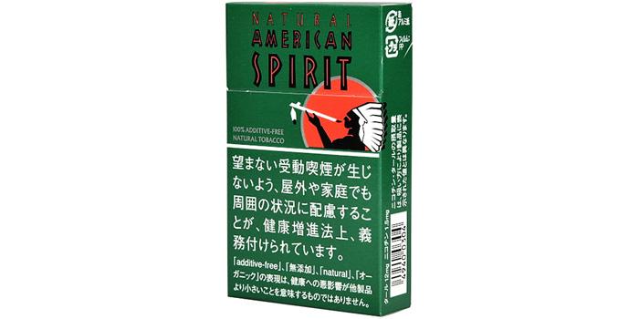 ニコチン・タールが高いタバコ銘柄第11位:アメリカンスピリットミント