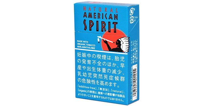 ニコチン・タールが高いタバコ銘柄第12位:アメリカンスピリットターコイズ