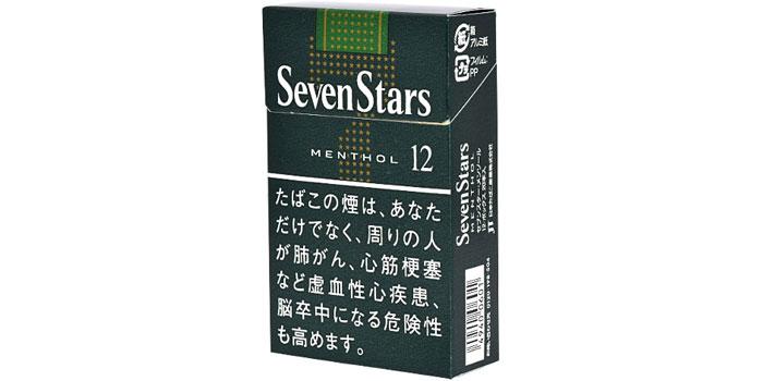 ニコチン・タールが高いタバコ銘柄第13位:セブンスターメンソール12