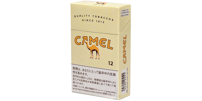 ニコチン・タールが高いタバコ銘柄第14位:キャメル
