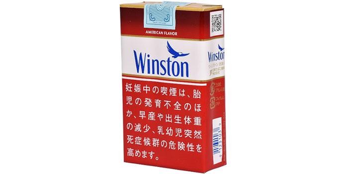 ニコチン・タールが高いタバコ銘柄第17位:ウィンストン