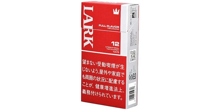 ニコチン・タールが高いタバコ銘柄第18位:ラーク100