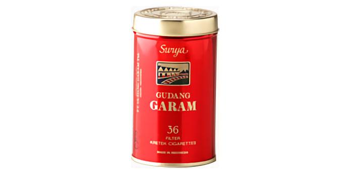 ニコチン・タールが高いタバコ銘柄第1位:ガラムスーリア缶