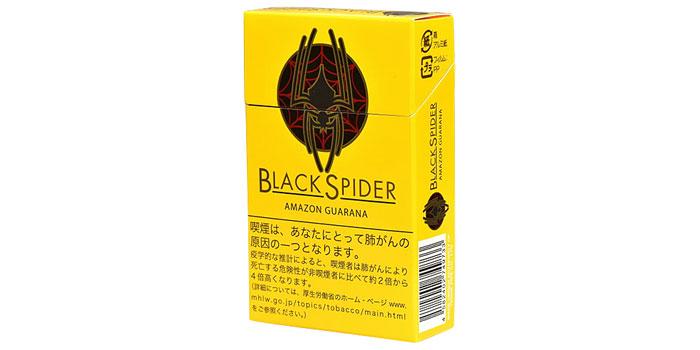 ニコチン・タールが高いタバコ銘柄第21位:ブラックスパイダー