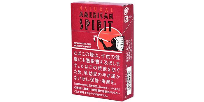 ニコチン・タールが高いタバコ銘柄第22位:ナチュラルアメリカンスピリットアガット