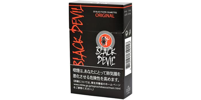 ニコチン・タールが高いタバコ銘柄第28位:ブラックデビルオリジナル