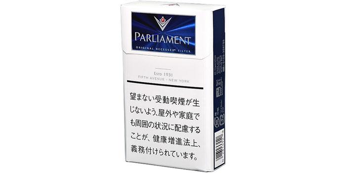 ニコチン・タールが高いタバコ銘柄第30位:パーラメント9mg