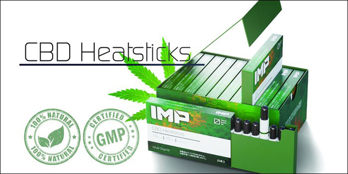 IMP CBD Heatsticks(インプCBDスティック) CBDヒートスティック