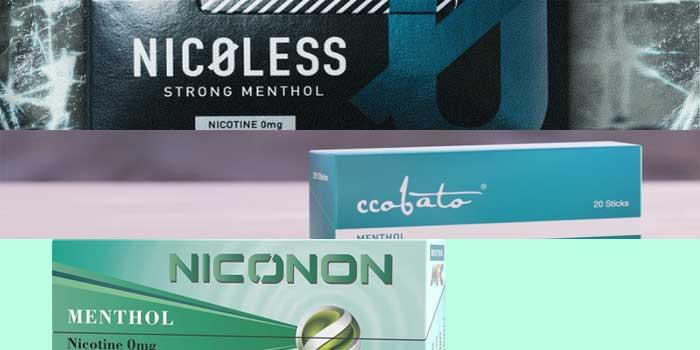 【結論】コンビニで買えるニコチンゼロ・タールゼロのタバコスティックは3種類
