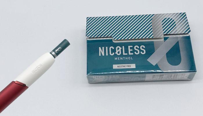 NICORESS(ニコレス)のメンソールの味や吸い応えをレビュー!