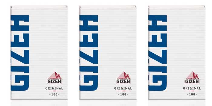 GIZEHのタバコペーパーを安い順に9種類ご紹介①:オリジナル