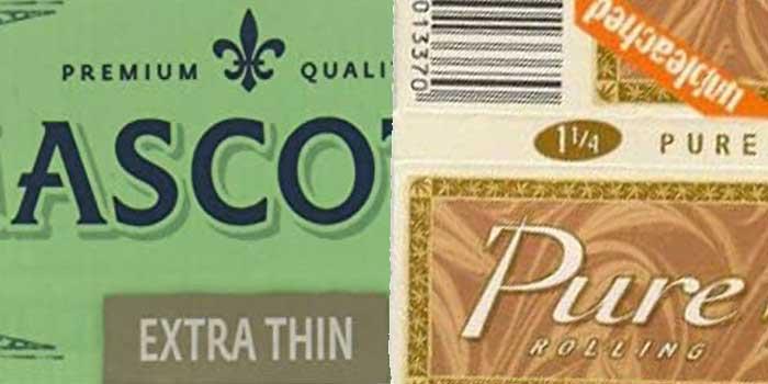 【ブランド別】その他のブランドのタバコペーパー2種類を安い順にご紹介