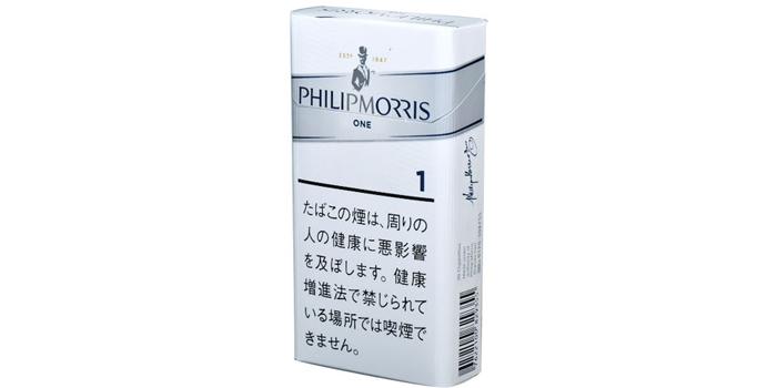 フィリップモリスの新作タバコ銘柄レビュー:フィリップモリス 1 100S