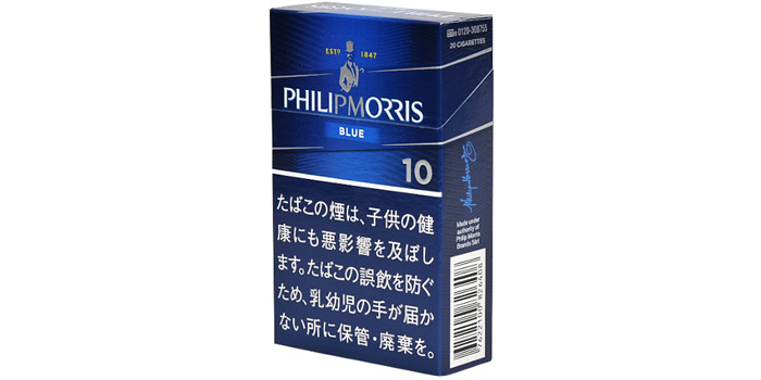 フィリップモリスのタバコ全5銘柄レビュー:フィリップモリス 10