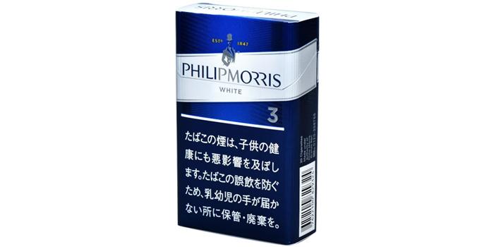 フィリップモリスの新作タバコ銘柄レビュー:フィリップモリス 3 KS