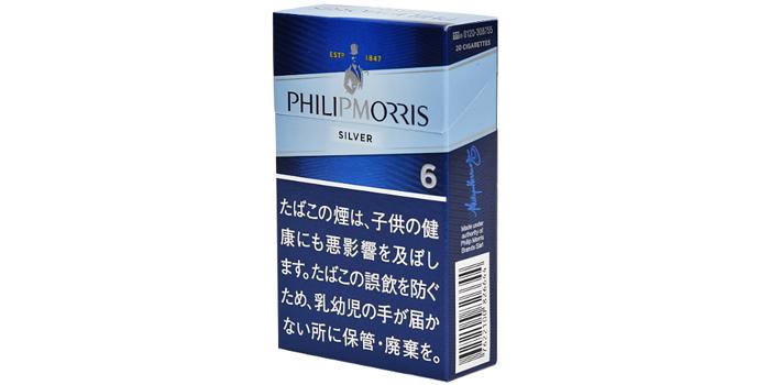 フィリップモリスのタバコ全5銘柄レビュー:フィリップモリス 6