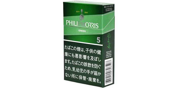 フィリップモリスのタバコ全5銘柄レビュー:フィリップモリス メンソール 5