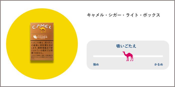 キャメルシガーの種類③:キャメルシガーライトボックス