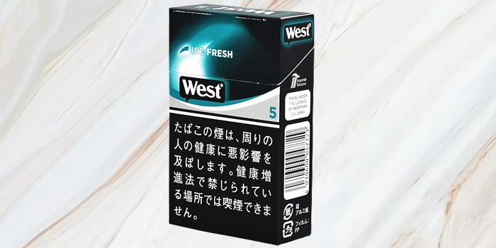 紙巻きタバコ「ウエスト」の値段⑧:ウエスト アイフレッシュ 5