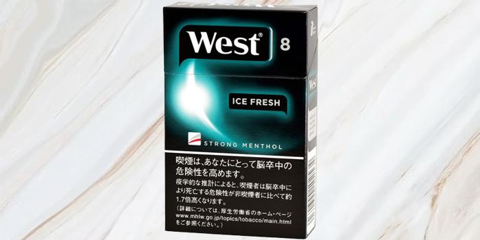 紙巻きタバコ「ウエスト」の値段⑦:ウエスト アイスフレッシュ 8