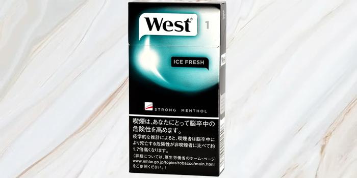 紙巻きタバコ「ウエスト」の値段⑨:ウエスト アイスフレッシュ 1 100