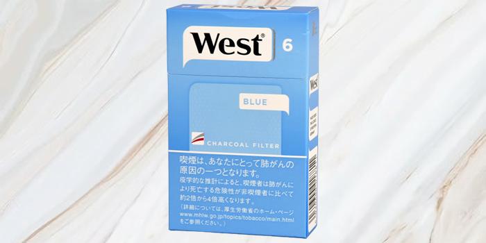 紙巻きタバコ「ウエスト」の値段③:ウエスト ブルー