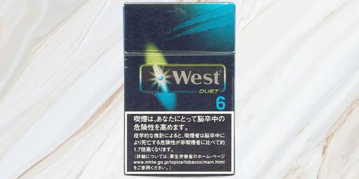 紙巻きタバコ「ウエスト」の廃盤銘柄の値段⑥:ウエスト デュエット