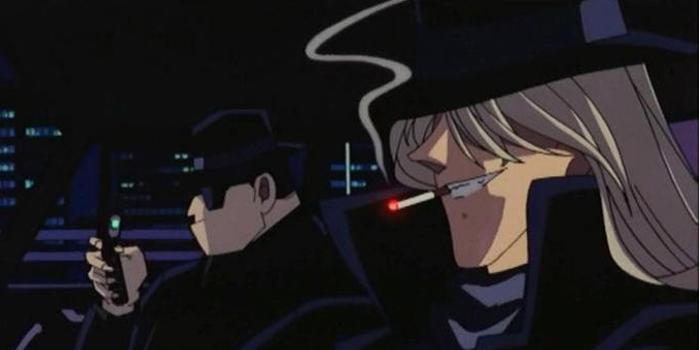 ゴロワーズのタバコを吸っているアニメキャラ・有名人①:名探偵コナン ジン
